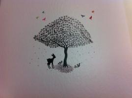 A glistening fairy tale like illustration
