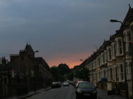 A hidden gem in a stormy sky