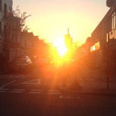 Pre-spring Sunset