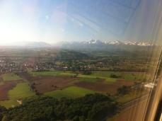 Beautiful landing scenery