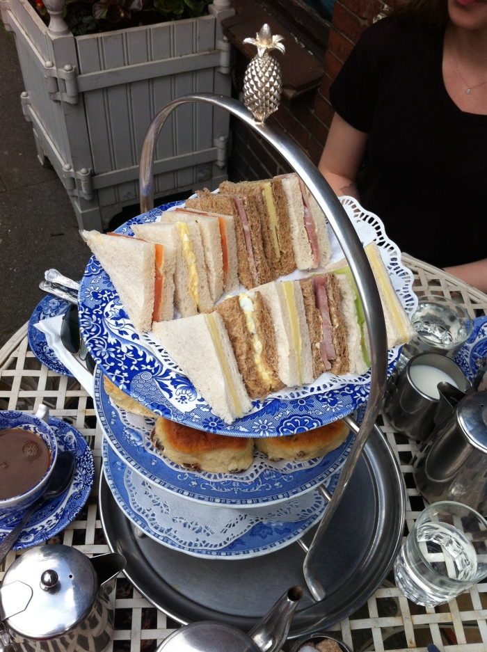 Afternoon tea at the Maid Of Honour