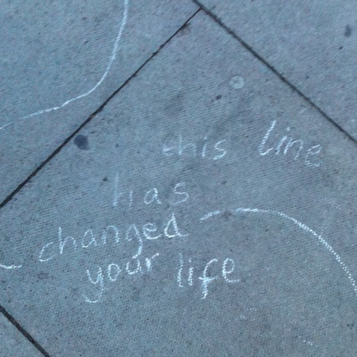 Pavement inspiration