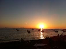 Moon and Sun dancing in Ibiza
