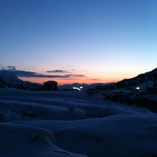 Sunset in the Dolomites