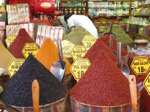 Fragrant spices from the Spice Bazaar