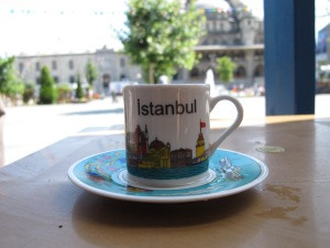Turkish Coffee by the New Mosque