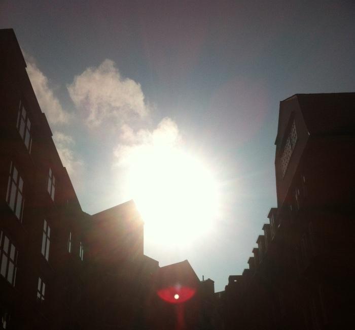 Wednesday bright sunshine
